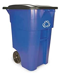 RUBBERMAID 9W27-73 Recycle Receptacle,50g