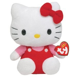 Imagen de Ty Beanie Baby Hello Kitty - Original