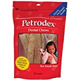 Sentry HC Petrodex Dental Chews, For Small Dogs 24 ea