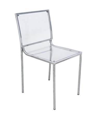 ... Almeda Acrylic Transparent Dining Chair, Clear  kamidresses.com