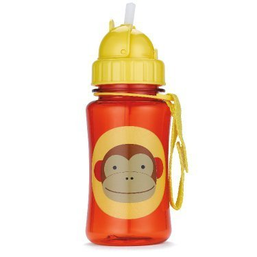 Skip Hop Zoo Series Drinking Bottle With Straw Spout / Monkey By Skip Hop