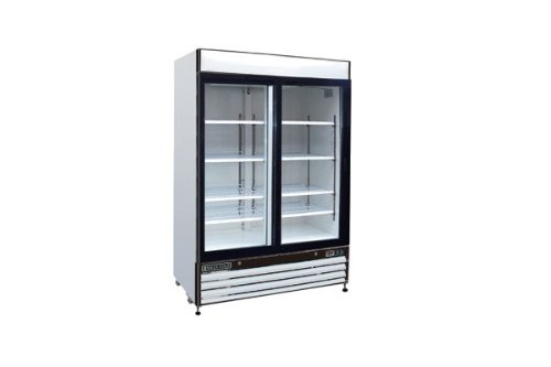 Maxximum 48 Cft Double Glass Door Merchandiser Freezer Mxm2-48F front-16976