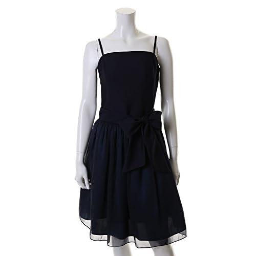 (クリアインプレッション)Clear Impression dress スカートレイヤードワンピース ネイビー 01