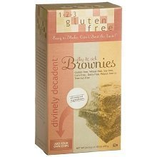 123 Gluten Free Divinely Decadent Brownie Mix 24.5 Ounce 6 Per Case. by 123 Gluten Free