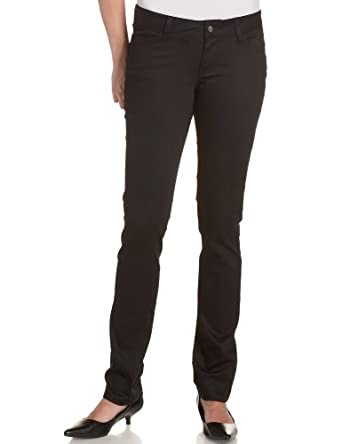 Dickies Juniors 5 Pocket Skinny Pant,Black,0