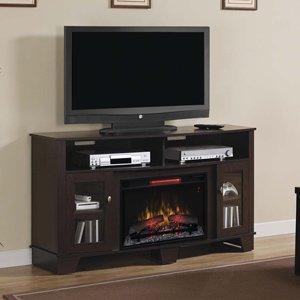 ClassicFlame LaSalle Infrared Electric Fireplace Media Console in Oak Espresso - 26MM4995-PE91
