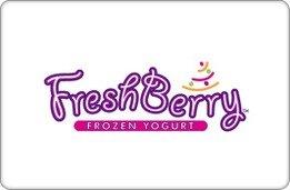 Freshberry Frozen Yogurt Cafe Gift Card ($5) front-1054398