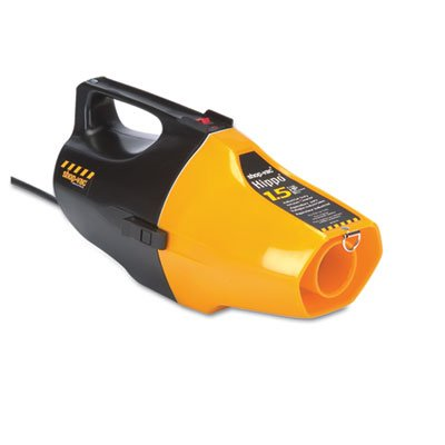 Hippo Handheld Vac, 6.8 A, 9Lb, Yellow/Black front-459458