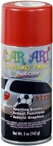 Dupli Color Red Temporary Car Art Spray Paint