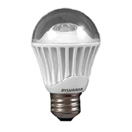 Sylvania 78883 LED8A15/DIM/827 A-Shaped Dimmable LED Lamp