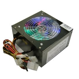 Broadway Co Power Supply Okia-Black-550 550W Atx 12Cm Led Fan 2Xsata 24Pin Black Retail