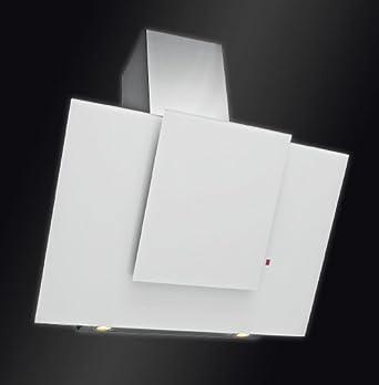 neuheit exklusive wei glas dunstabzugshaube 90cm kopffrei wandhaube von sagoma kopffreihaube. Black Bedroom Furniture Sets. Home Design Ideas