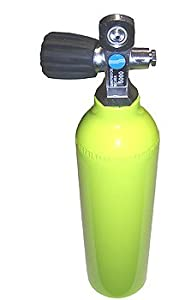 Buy 6 cu ft 3000 PSI Aluminium High Pressure Spare Emergency Tank Cylinder with Valve for Scuba Diving... by Sherwood