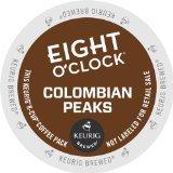 96 k Cups Eight O'Clock Columbian Peaks Coffee Blend