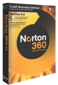 Norton 360 Small Business Edition 5.0 5 User