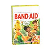 Band-Aid Band-Aid Adhesive Bandages Assorted Sizes Disney Fairies, 20 each (Pack of 3)