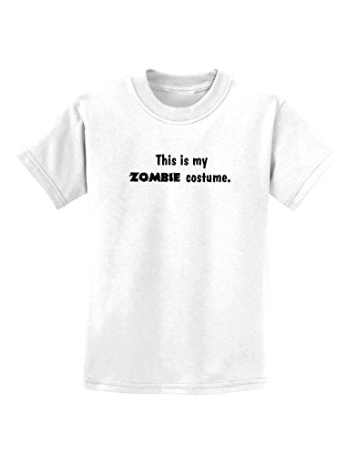 This Is My Zombie Costume - Halloween Childrens T-Shirt