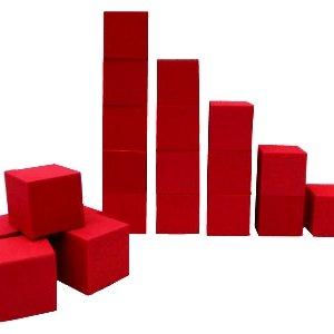 Foam-Pits-Gymnastic-Trampoline-Skateboard-Pits-68-pcs-Foam-CubesBlocks-8x8x8