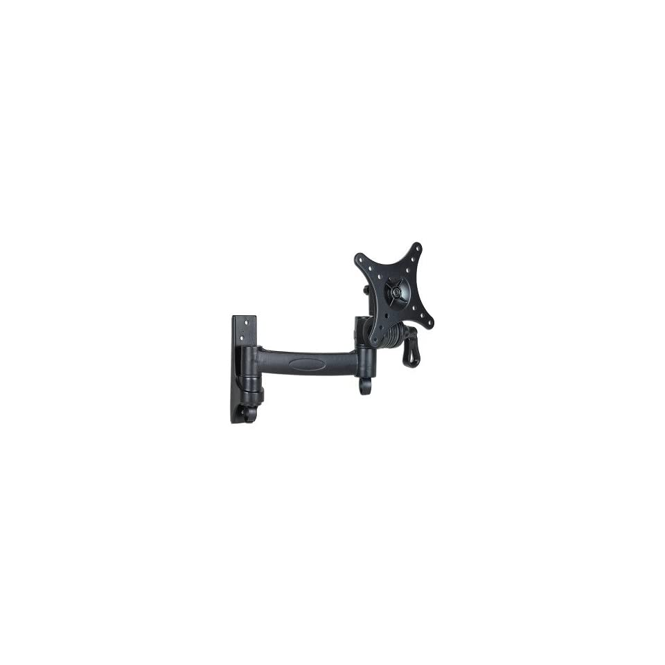 10   24 LCD Monitor/TV Articulating Single Arm Wall Mount Bracket