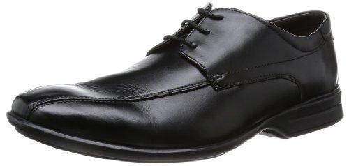 Clarks - Scarpe sportive Gadwell Over, nero (Schwarz (Black Leather)), 40