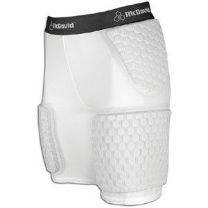 McDavid Ladies Hexpad Thudd Short with Extended Hexpad Thigh Guard Sewn In by McDavid
