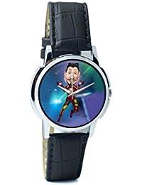 BigOwl Man Of Iron Analog Men's Wrist Watch 3681196126-RS1-W-BK1
