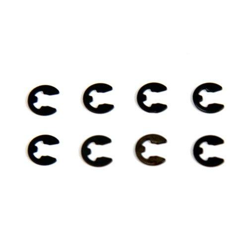 Atomik RC 4mm E-Clip 8pcs - 1