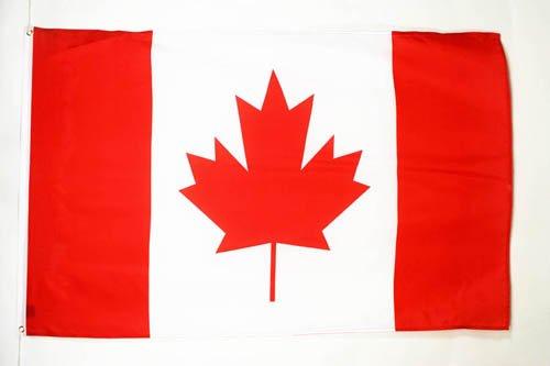 BANDIERA CANADA 150x90cm - GRAN BANDIERA CANADESE 90 x 150 cm Poliestere leggero - Bandiere - AZ FLAG