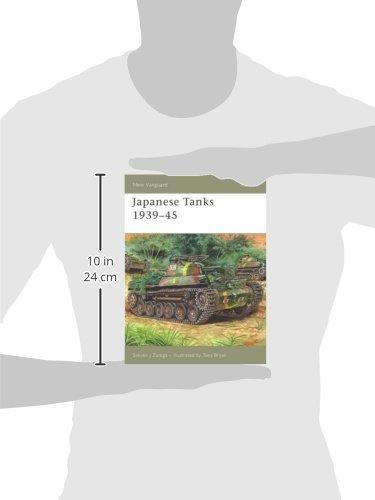 Japanese Tanks 1939-45 (New Vanguard)