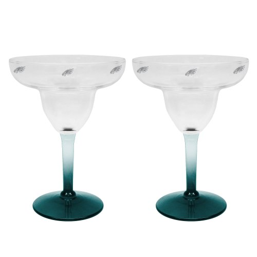 NFL 2pk Margarita Glass