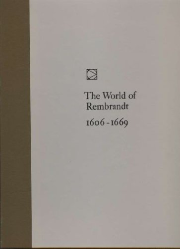The World of Rembrandt - Time Life Library of Art, Robert Wallace