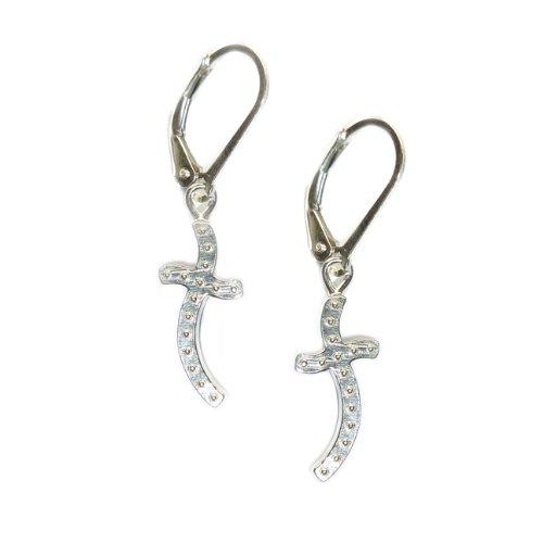 Cross Earrings By Sophia & Chloe