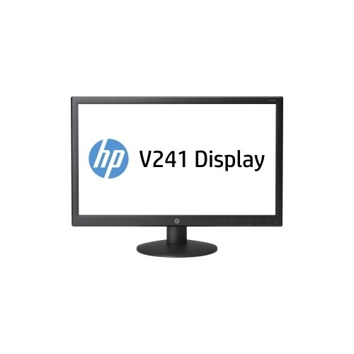"Hewlett-Packard V241 23.6"" Led Lcd Monitor - 16:9 - 5 Ms Adjustable Display Angle - 1920 X 1080 - 16.7 Million Colors - 250 Nit - 1,000:1 - Full Hd - Dvi - Vga - 30 W - Black / E5Z68A8#Aba /"