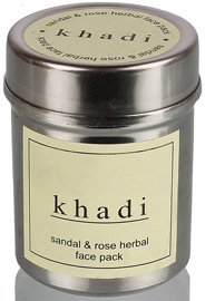 Khadi Sandal and Rose Herbal Face Pack