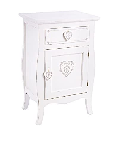 Shabby Chic tabel 1A - 1C Lisette nacht wit