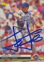 Jason Jacome Norfolk Tides - Mets Affiliate 1994 Classic Autographed Hand Signed... by Hall of Fame Memorabilia