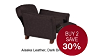 Abbey Recliner (Manual) - Leather