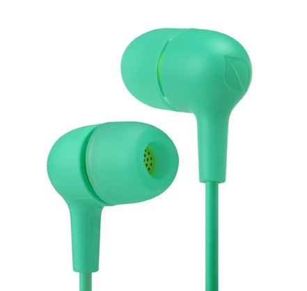 Incase Capsule In Ear Headphones - Apple Green / Electric Lime - Ec30035