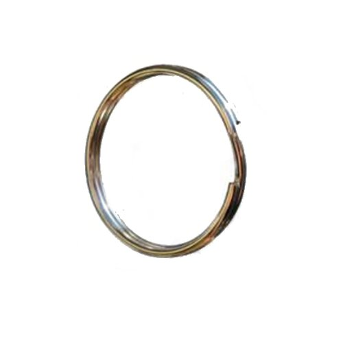 "Zak Tool Zt34 1.5"" Tactical Key Binding Ring - Silver 25Pack"