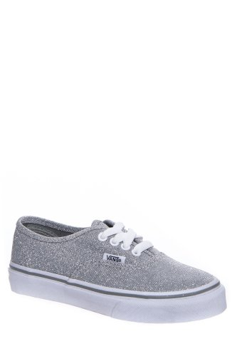 Vans Kids' Authentic Shimmer Low Top Lace Up Sneaker