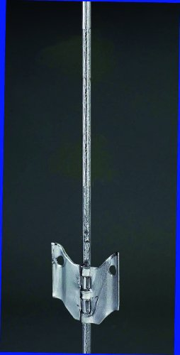 Woodstream Zareba Aefp54 Zareba Steel Rebr Pst W/Ins Silver 54 Inch