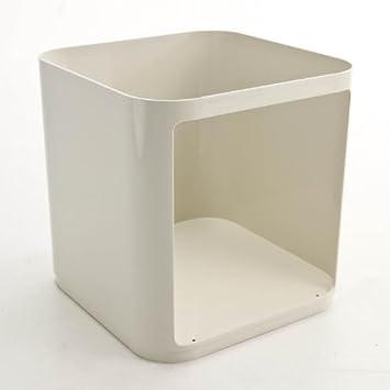 kartell componibili modul eckig wei abs kunststoff gr e 2 h he 38 5cm us72. Black Bedroom Furniture Sets. Home Design Ideas