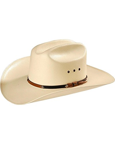 9ba210b9ee72e Stetson Men s 10X Grant Straw Hat Natural 7 3 8