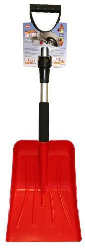 Hopkins 222-E Mallory Telescopic Emergency Shovel with Foam Grip (Colors may vary)