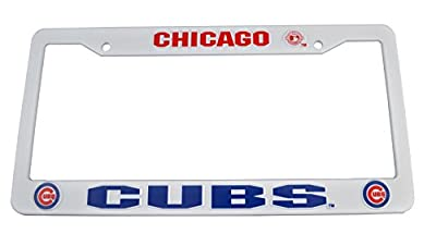 Official Major League Baseball Fan Shop Licensed MLB Shop Authentic License Plate Frame. Show Team Pride Everywhere You Drive - Everyday. This Plate Frame Says You're a Proud Fan As You Ride or Drive