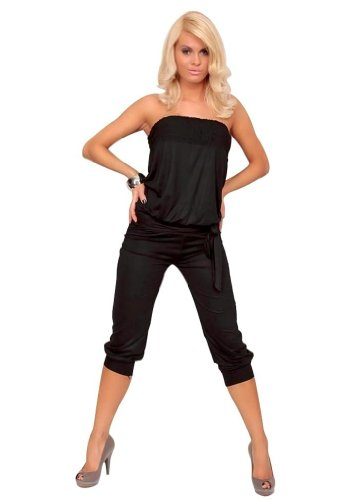 Amour- Sexy Elegant Jumpsuit Overalls Pants Romper Clubwear Gogo Dance