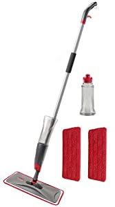 Rubbermaid Reveal Spray Mop Kit, FG1M1600GRYRD