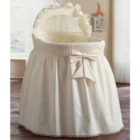 Embossed Damask Creation Liner -skirt & Hood - Color Ecru - Size 16x32