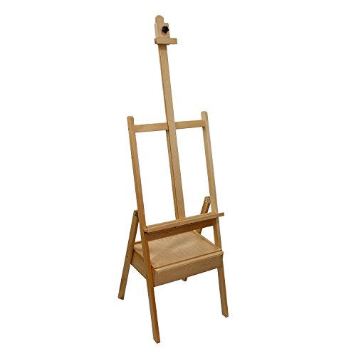 us-art-supply-studio-h-frame-wood-artist-painting-floor-easel-with-storage-drawer