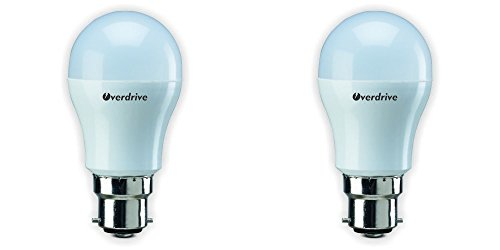 3W B22 LED Bulb (Cool Day Light, Pack of 2)